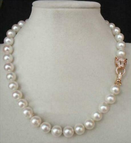 """20/"""" 10-9MM AAA GENUINE WHITE AKOYA PEARL NECKLACE"""