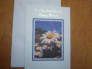 Image Is Loading Birthday Card Granddaughter Silver Engraving Same Day Shipping