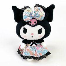 Japan Sanrio My Melody KUROMI TANABATA Festival figure key holder Plush Doll