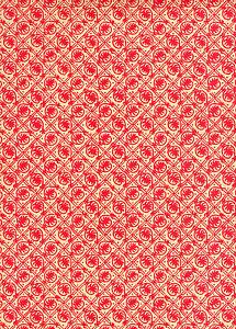 Carta Varese Italienisches Buntpapier 50 x 70 cm rot Überzugspapier