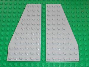 Lego OldGray tile 1x2 ref 3069bps1 Set 7180 7144 10129 7140 7142 7161 7190 ...