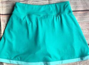 Nike-Tennis-Skirt-Size-X-Small-Skort-Shorts-Green-Athletic-EUC-Womens-Women-039-s