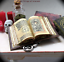 Open Book CODEX OF PARANOR MAGIC BOOK Miniature Dollhouse 1:12 Scale Illustrated