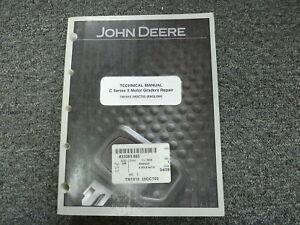 john deere 670c 670ch 672ch series ii motor grader service repair rh ebay com