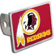 WASHINGTON REDSKINS NFL Class II/III Pewter Trailer Hitch Cover