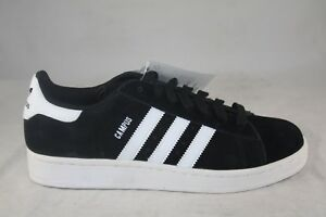 MEN-039-S-ADIDAS-CAMPUS-2-B26154-BLACK-WHITE-BLACK-SIZE-7-5