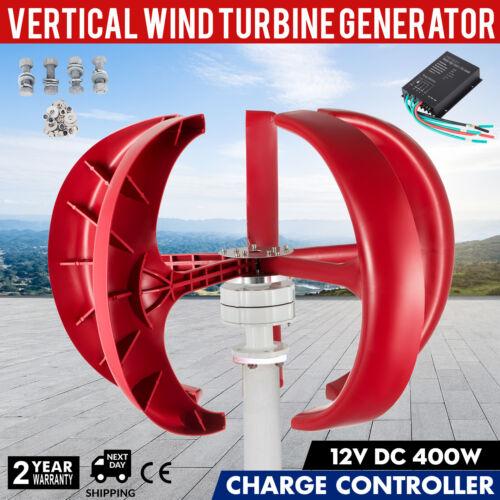 400W 12V Eolienne Générateur de Vent 3 Phase AC PMG Wind Turbine Diamètre 900mm