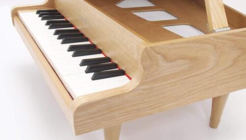KAWAI MIni Grand Piano 32 key Natural 1144 Musical Instrument real Toy Japan