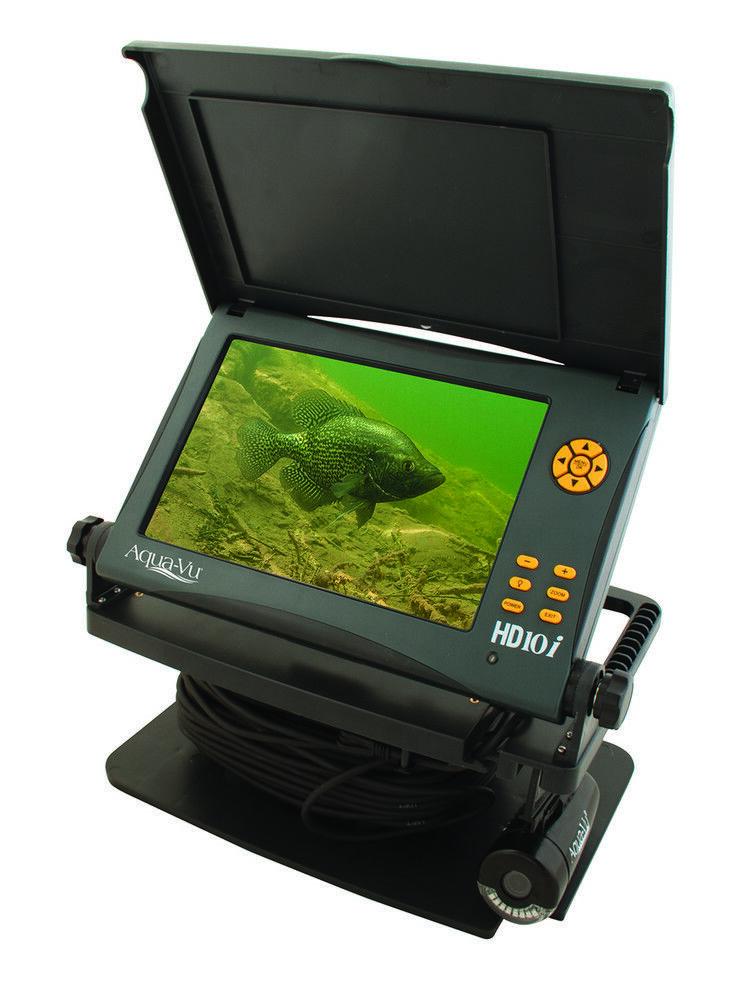 Aqua Vu Hd10I Cámara Subacuática 10  pantalla LCD a Color y cable de 75'