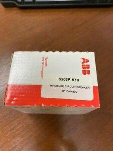 ABB S203P-K10 Miniature Circuit Breaker - NEW