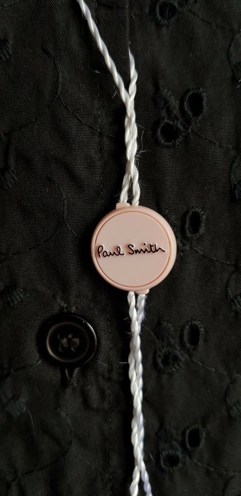PAUL SMITH rosa Ladies Nero Camicetta  Top Taglia Taglia Taglia IT 42 e922d2