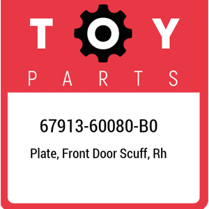 TOYOTA Genuine 67913-04120-B0 Door Scuff Plate
