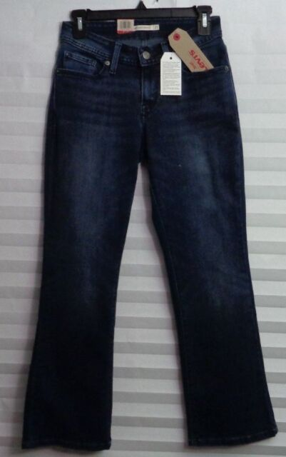 258dbfd7 Levi's 529 Womens Curvy Bootcut Jeans Mid Rise Pants Size 4 27x30 ...