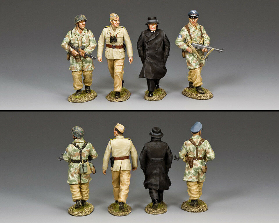 KING AND COUNTRY LUFTWAFFE Mussolini's Rescue Set LW66 LW066