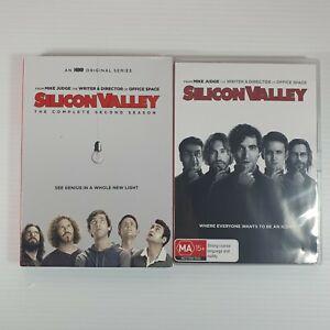 Silicon Valley temporadas 1 y 2 DVD región 4