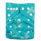 ALVA BABY Girl Cloth Diaper OneSize Washable Colorful Reusable Nappy+1MF Insert