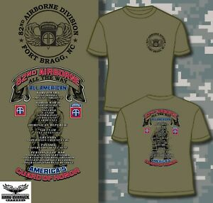 c61863a21 82nd Airborne Division All American Fort Bragg NC Outstanding T ...