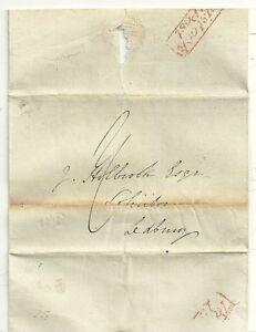1836-RARITY-F-RED-TAVISTOCK-PENNY-POST-DEVON-WRAPPER-amp-UNREC-NO-2-TO-LEDBURY