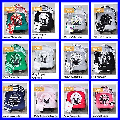 Harley Jersey Stretch Whole Caboodle Car Seat Canopy Newborn Infant Baby Cover