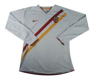RC Lens 2006-07 Authentic away shirt CENTENARIO Player Issue XL soccer jersey