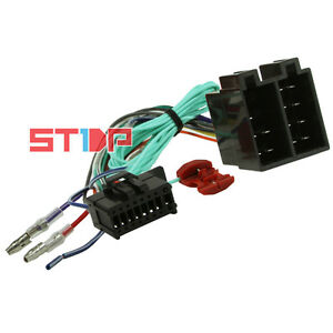 iso wiring harness for pioneer avh 295bt adaptor cable connector lead wire ebay