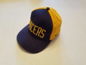 Indiana-Pacers-Nike-Youth-Ball-Hat-Cap-One-size-NBA-Basketball-Court-Hoop-Board
