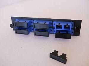 12 Ports Sm/upc 6 Duplex Sc Connectors Single Mode Fiber Optic Adapter Panel