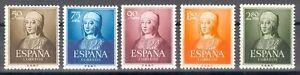 ESPANA-ANO-1951-EDIFIL-1092-96-ISABEL-LA-CAToLICA-SERIE-COMPLETA-MNH
