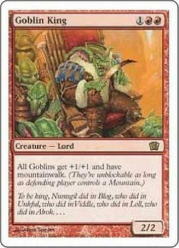 Goblin King PL MTG Eighth Edition 8th Magic