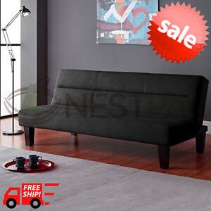 Image Is Loading Modern Futon Sofa Bed Convertible Couch Living Room