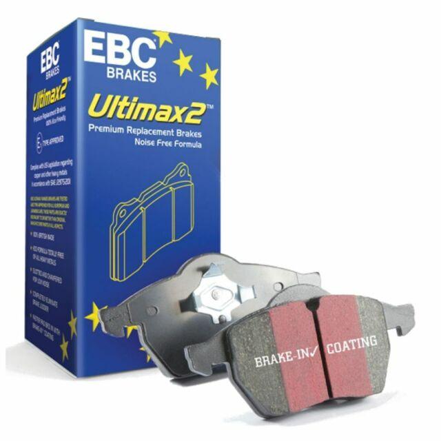 EBC Ultimax Blackstuff OE/OEM Standard Replacement Front Brake Pads - DP1117