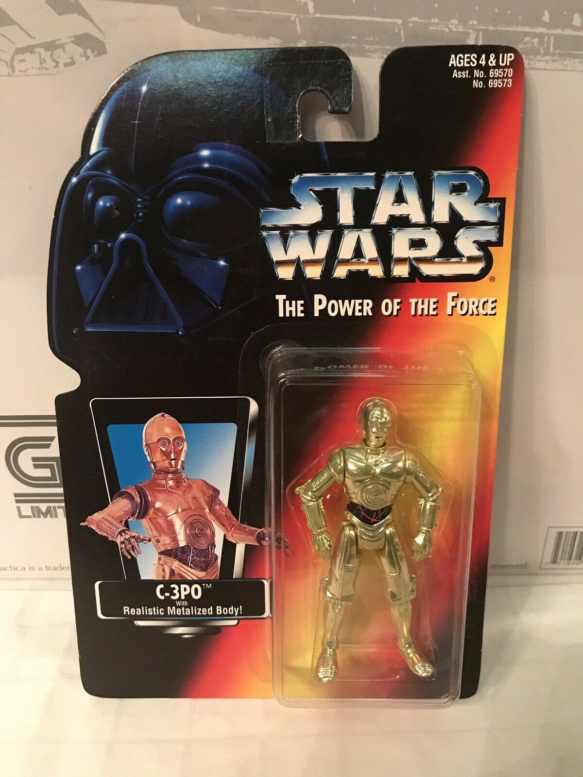 Star Wars The Power Of The Force Japanese C-3PO