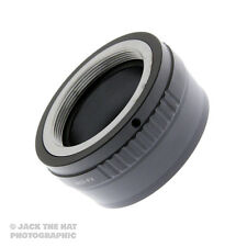 Professional M42 to Fuji X Lens Mount Adapter. Top Quality Brass and Alloy.