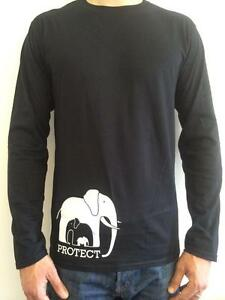 The-David-Sheldrick-Wildlife-Trust-039-s-PROTECT-Men-039-s-Long-Sleeve-T-Shirt