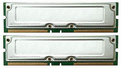 1GB PC1066 32 ns RDRAM 2 x 512MB DELL 8250 RAMBUS RAM