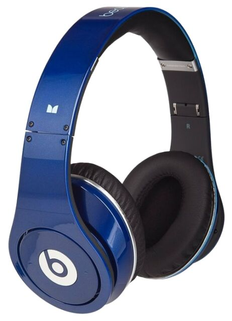 Beats By Dr Dre Studio Headband Headphones Blue For Sale Online Ebay