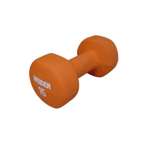 environ 6.80 kg Weider Néoprène Haltères Poids Tone exercice Home Gym 2 3 4 5 6 8 10 15 lb