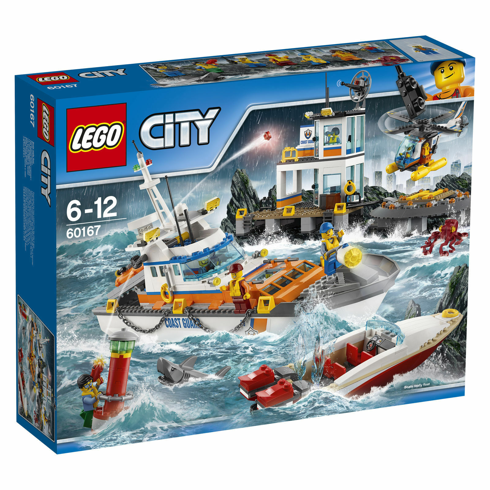 LEGO CITY Guardia Costiera centro  60167  NUOVO nella confezione originale