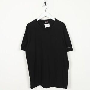 Vintage-KAPPA-Sleeve-Logo-T-Shirt-Tee-Black-XL