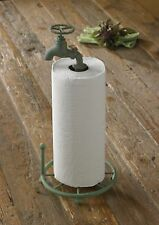 Water Faucet Paper Towel Holder by Park Designs - Bathroom Kitchen - Rustic