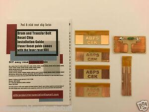 Easy Drum, Belt & Fuser Reset Kit for OKI C610 MPS610 MPS610C MPS6150C [C8K-610]