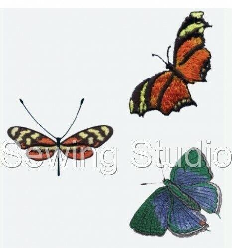 Mariposas 1 Diseños-Diseños De Bordado de la máquina en CD o USB