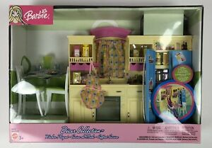 Barbie Kitchen Decor Collection Doll House Playset 2003 ...