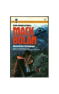 Mountain-Rampage-Mack-Bolan-the-Executioner-by-Marton-Sandra-Paperback-Book
