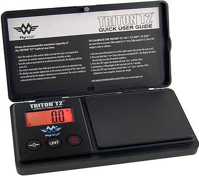 100% QualitäT Myweigh Triton T2 550 Feinwaage 550g / 0,1g Taschenwaage Schwarz Waage Digital 100% Original