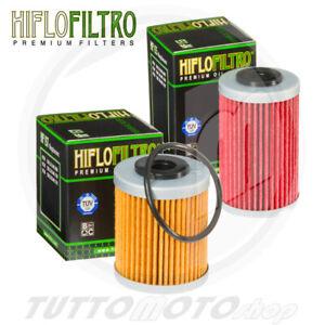 FILTRI OLIO HIFLO  HF155 +  HF157 KTM ATV XC525 ATV 2008 2009 2010 2011