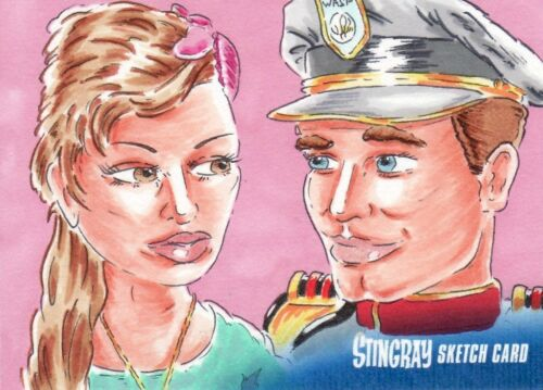Gerry Anderson's Stingray Rare Scott Fellows Sketch Card