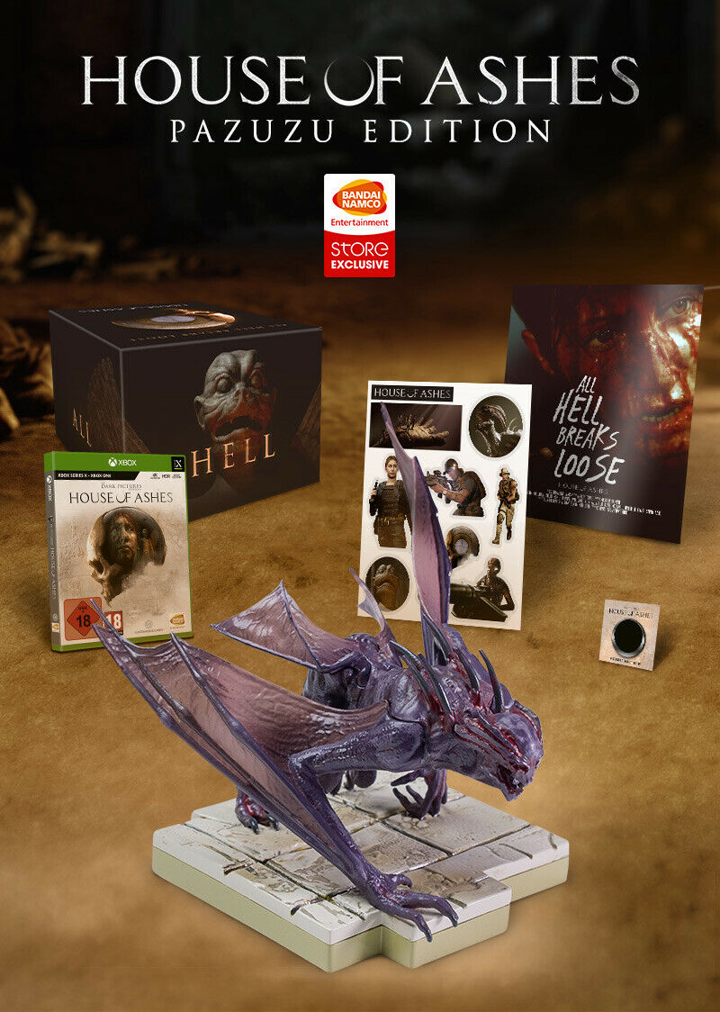 The Dark Pictures Anthology: House of Ashes Collectors/Pazuzu Edition Xbox S+X