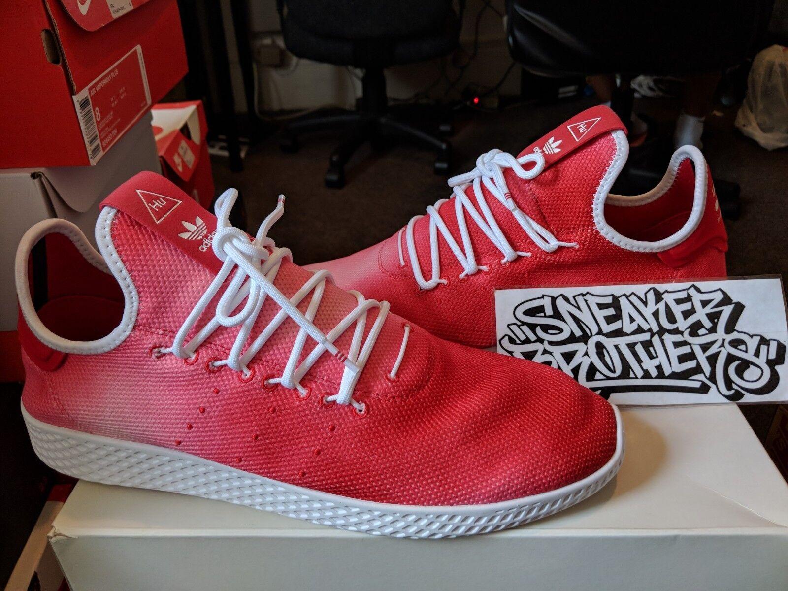 Adidas x Originals PW Tennis Hu Holi Pharrell Williams Scarlet Red White DA9615
