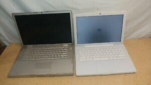 "Lot of 2 Apple MacBook Pro A1226 15.4"" & Apple Macbook A1181 Laptop  For Parts"